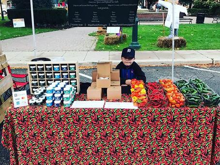 Farmers Market Plymouth Michigan Tomorrow October 19th.