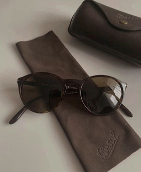 Handmade Persol sunglasses