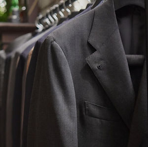 Rack of suits