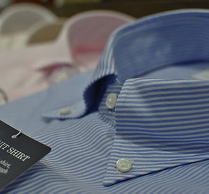 Handmade shirt - Oxford Collar Button Down
