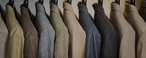 Rack of sport coats