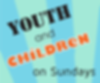 Youth and children on Sundays