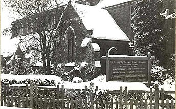Holy Trinity in the snow 1963