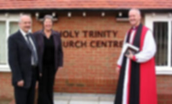 Dedication of Holy Trinity Centre in 2005