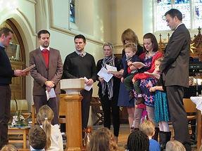 Baptism at HT
