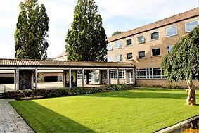 Dronningehaven og kongegåren på Idrætshøjskolen i Sønderborg