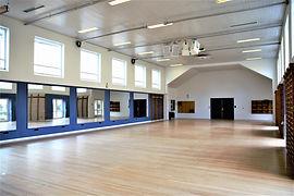 Spejlsalen på Idrætshøjskolen i Sønderborg