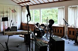 Musiklokalet på Idrætshøjskoleni Sønderborg
