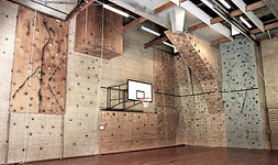 Klatrevæggen på Idrætshøjskolen i Sønderborg