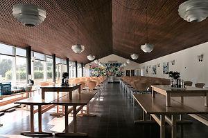 Spisesalen på Idrætshøjskolen i Sønderborg