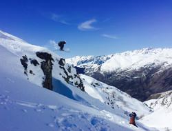 Ski- & Snowboardlinjen - Cliffdrops