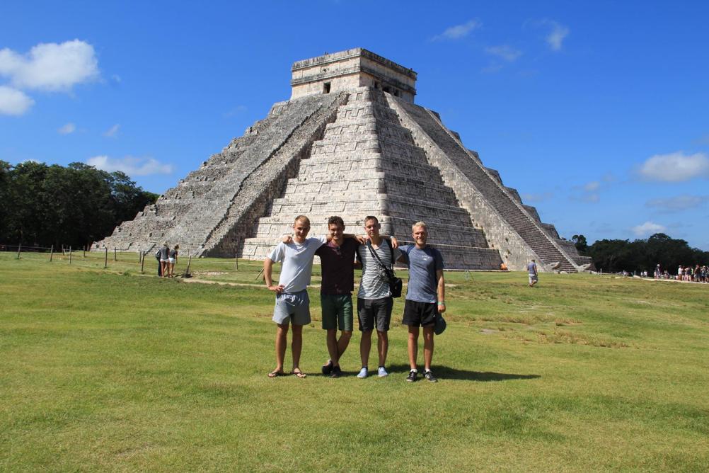 Mexico med drengene