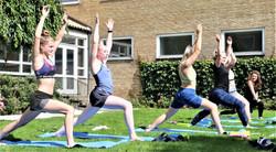 Yoga i det gode vejr