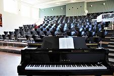 Foredragssalen på Idrætshøjskolen i Sønderborg