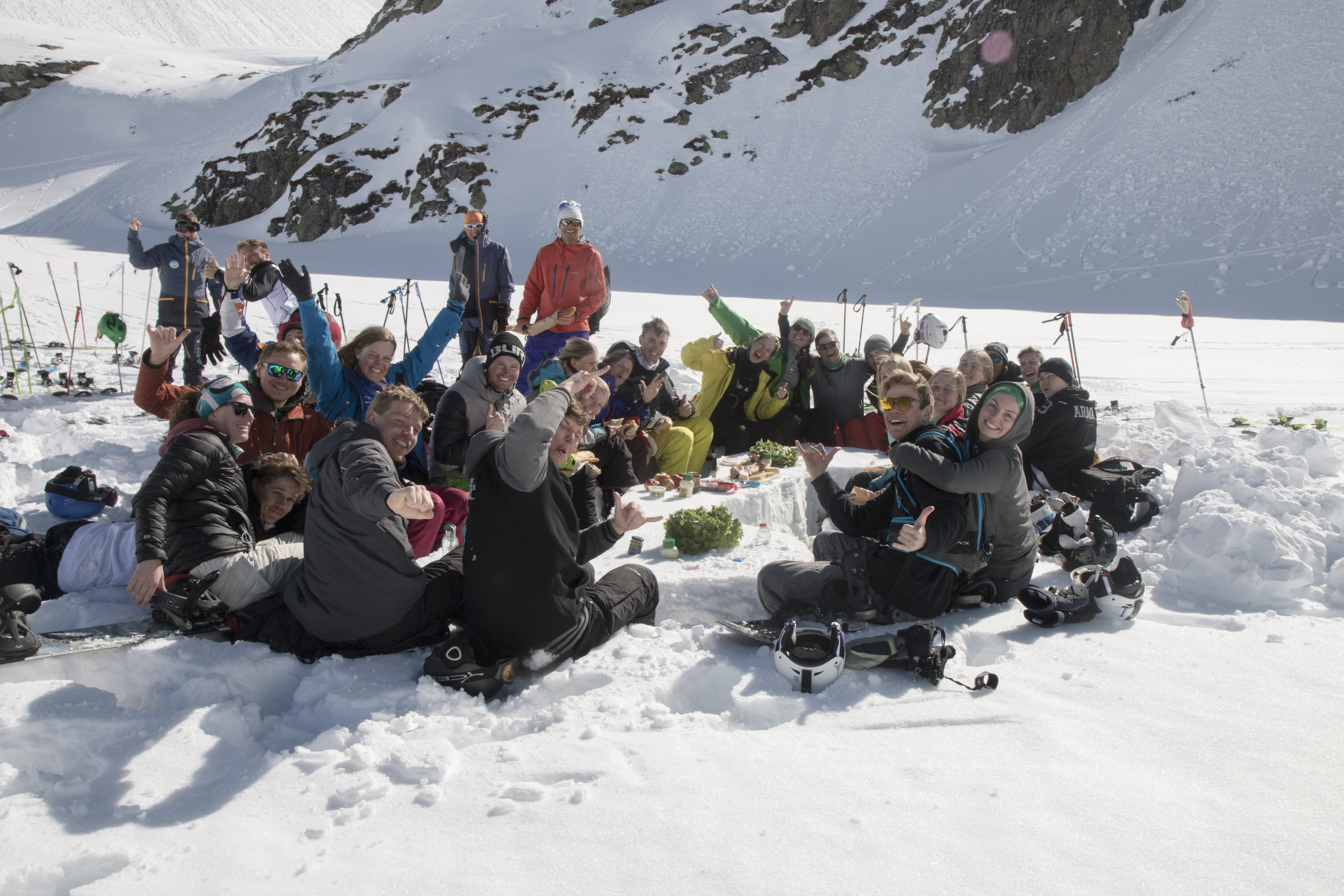 Picinc med skilinjen