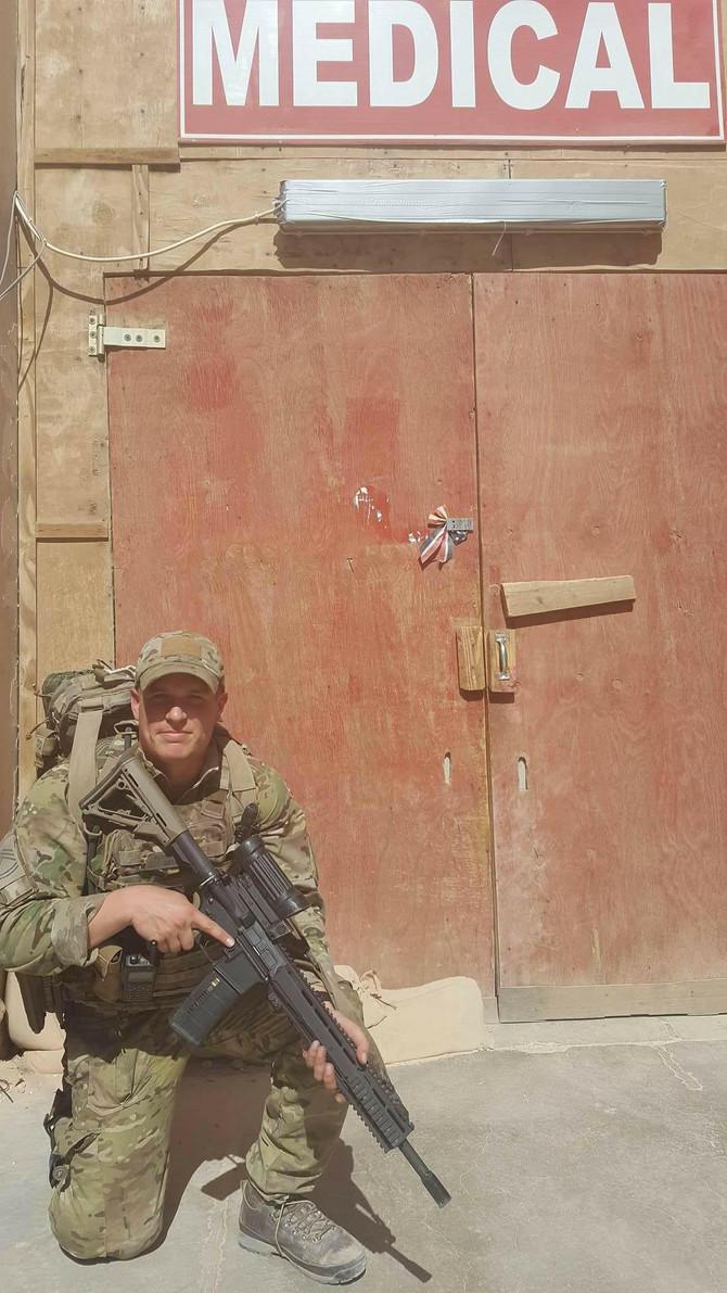 Et soldaterliv i rygsækken...