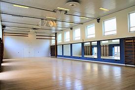 Spejlsaln på Idrætshøjskolen i Sønderborg