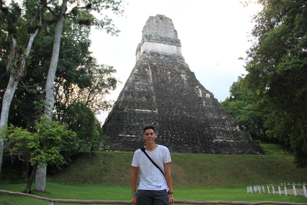 Tikal, Guatemala, nov. 2017