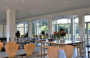 Foyeren på Idrætshøjskolen i Sønderborg