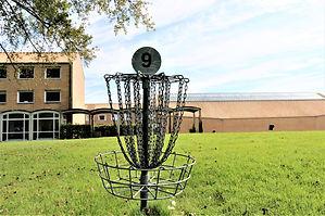 Disc golf p Idrætshøjskolen i Sønderbrg