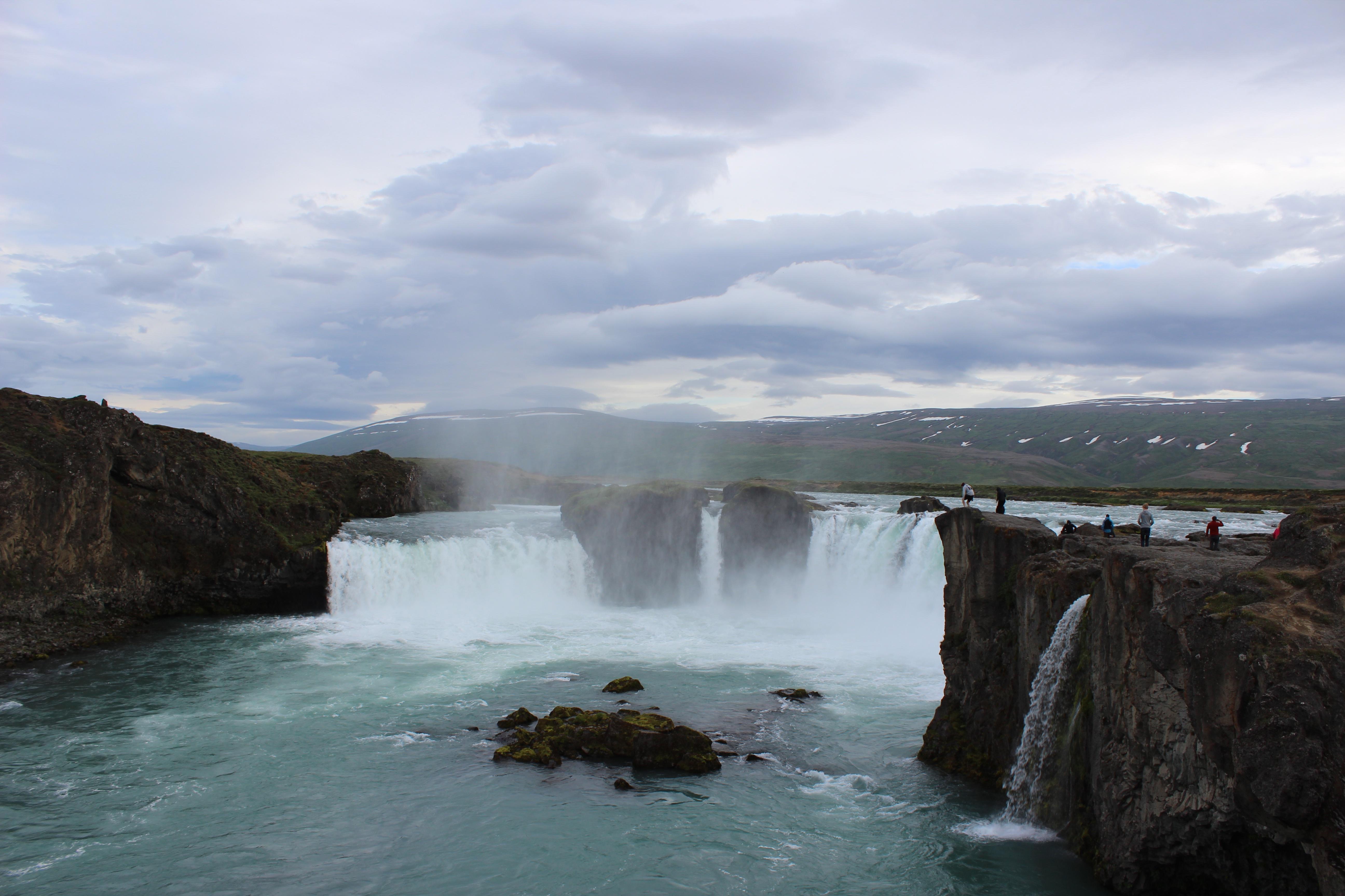 The waterfall Goðafoss