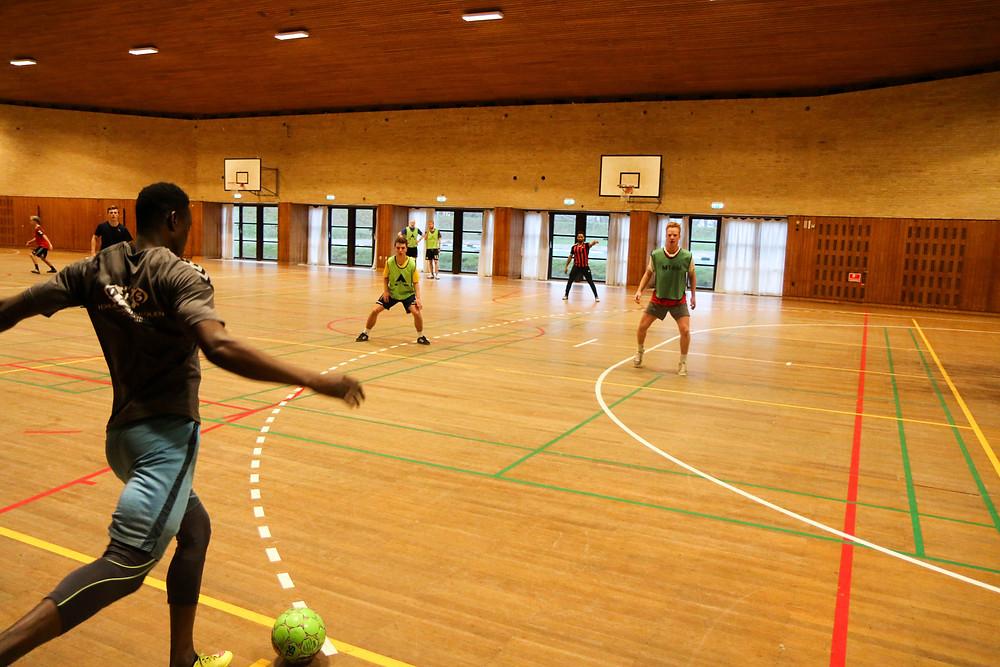 """Futsal i """"Frihedshallen"""""""