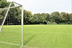 Fodboldbaner på Idrætshøjskolen i Sønderborg