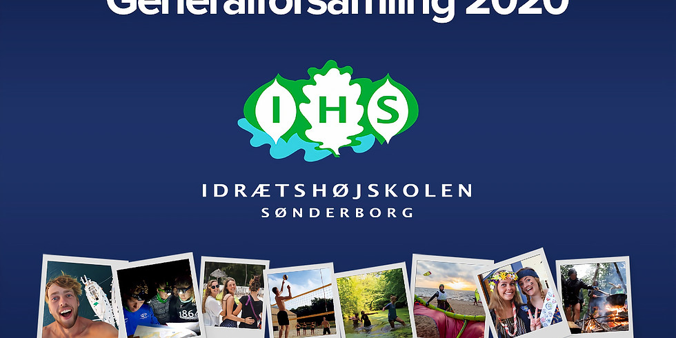 Generalforsamling 2020 på Idrætshøjskolen Sønderborg