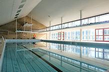 Svømmehallen på Idrætshøjskolen i Sønderborg