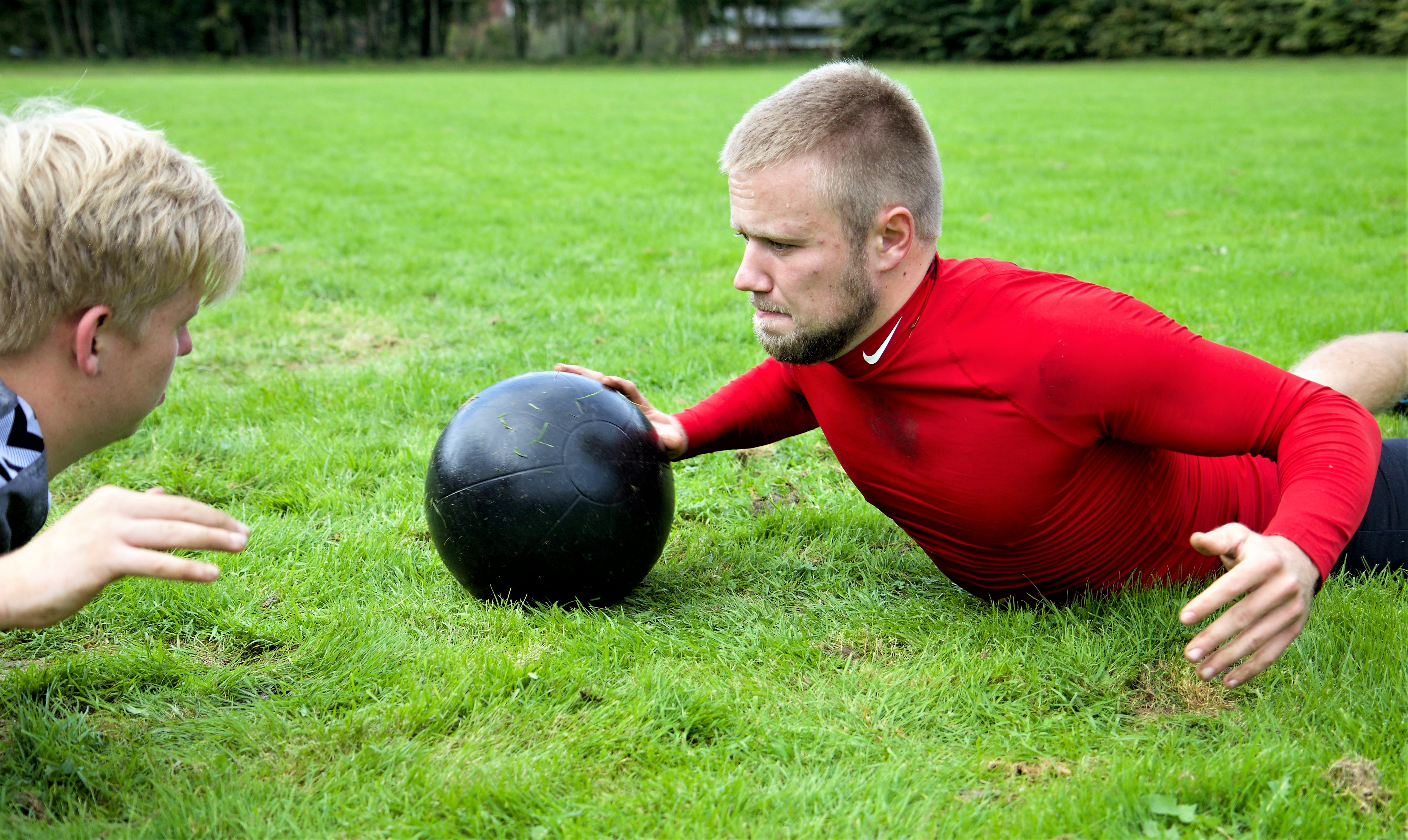 Medicin ball training
