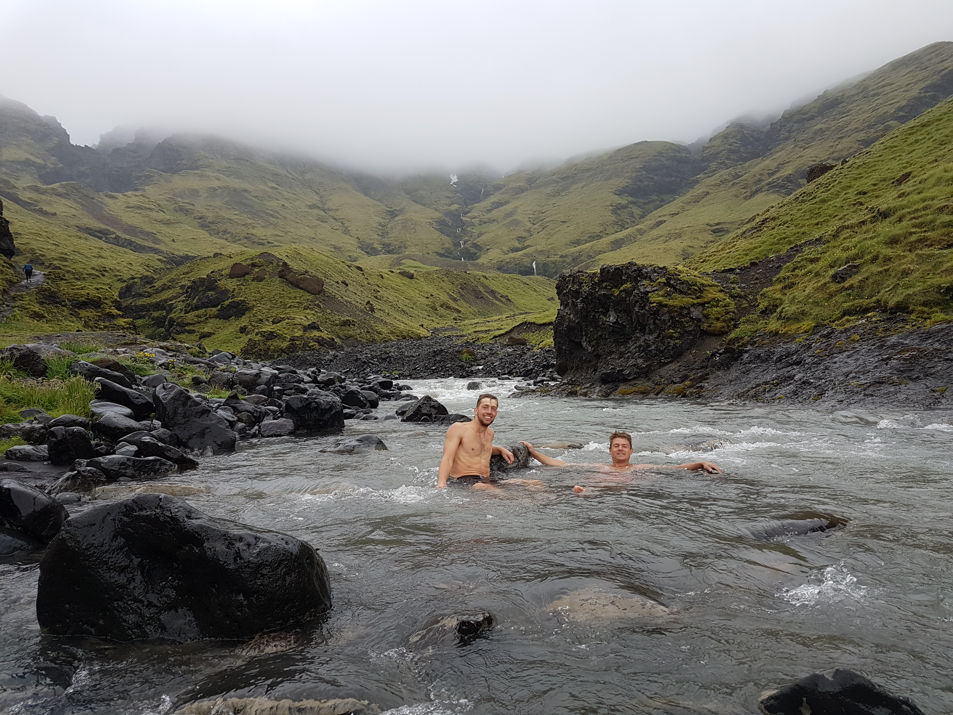 Hot (and cold) springs