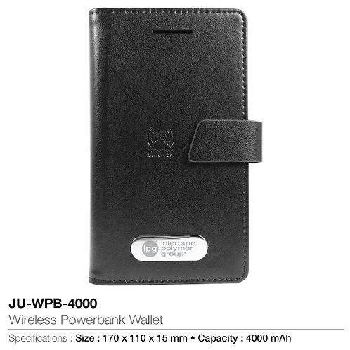 Wireless Powerbank Wallet JU-WPB-4000