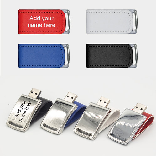 Stylish Leather USB Flash Drives