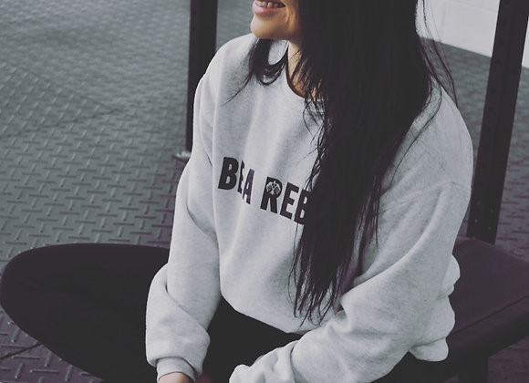 BE A REBEL Crew Neck