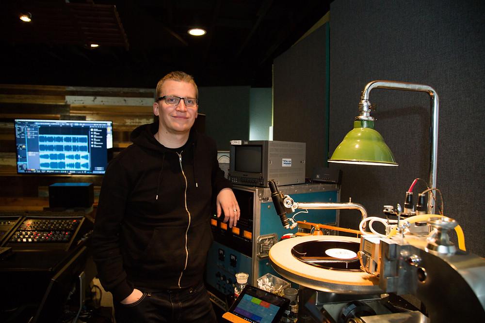 BlackBelt Audio Record Lathe photo by Danny Gross
