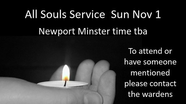All Soul's service