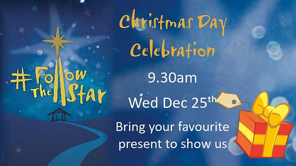 Christmas Day Celebration Dec 25th