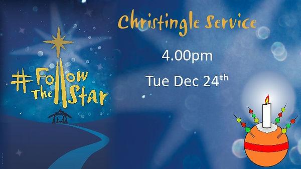 Christinge Service Dec 24th