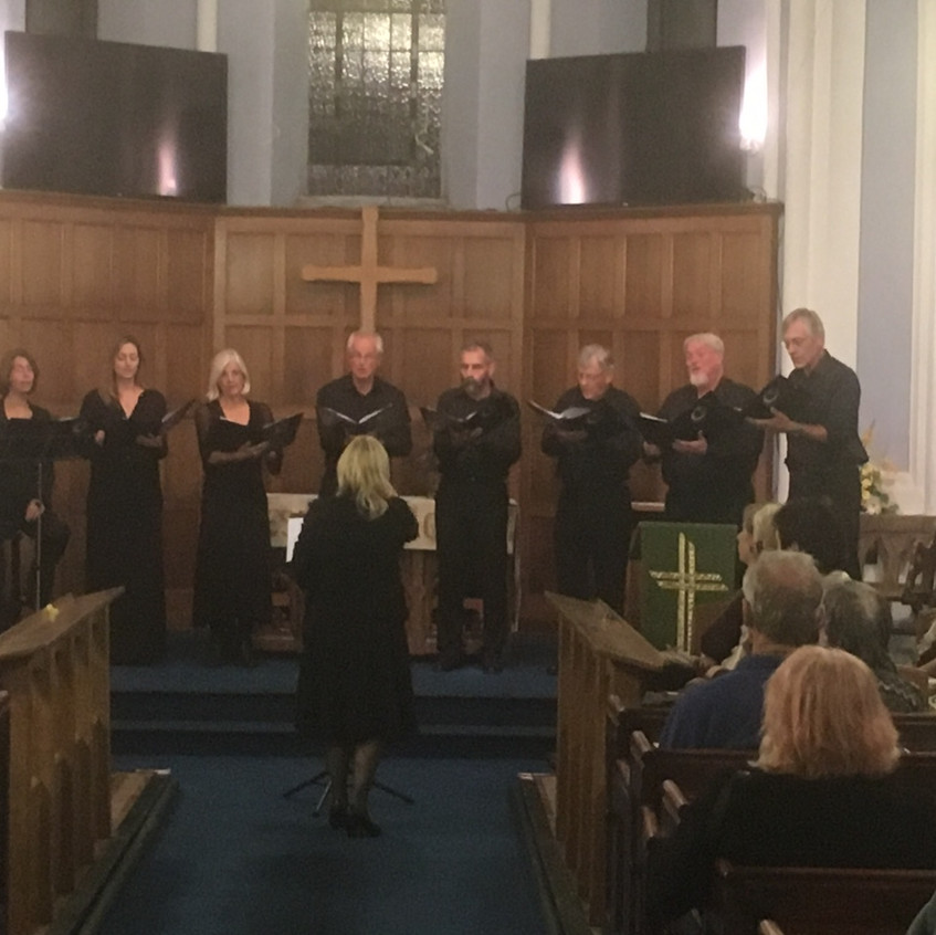 An Evening of Choral Music 21.9.18