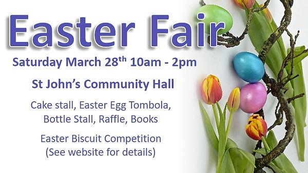 Easte Fair March 28th