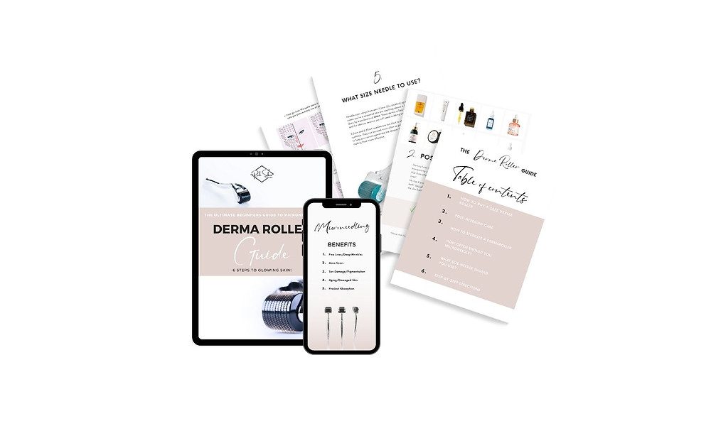 how to use a derma roller, how to clean a derma roller, microneedling for hyperpigmentation, step by step guide to microneedling