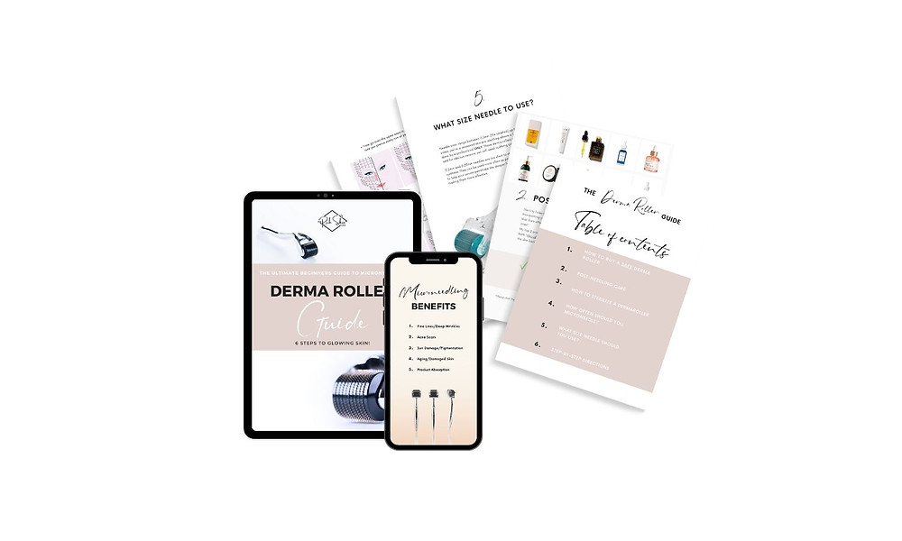 how to use a derma roller, beginner guide to microneedling, how often to use a derma roller