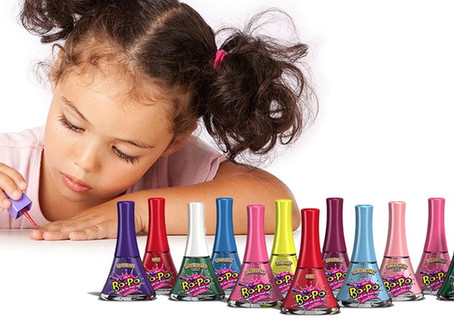 Kid-Safe Nail Polish: Non-Toxic & Washable