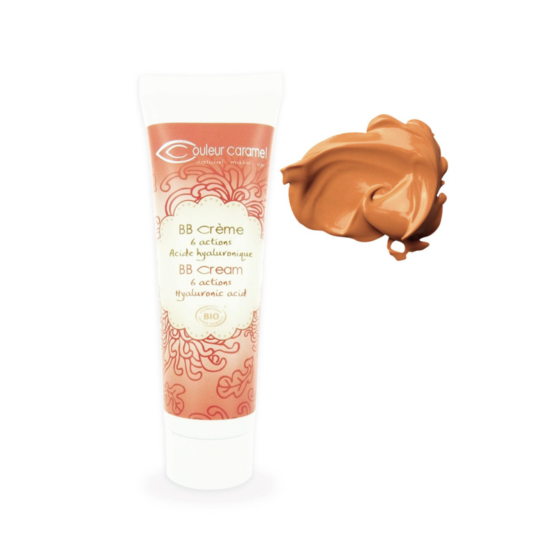 Glow Organic Couleur Caramel BB Cream