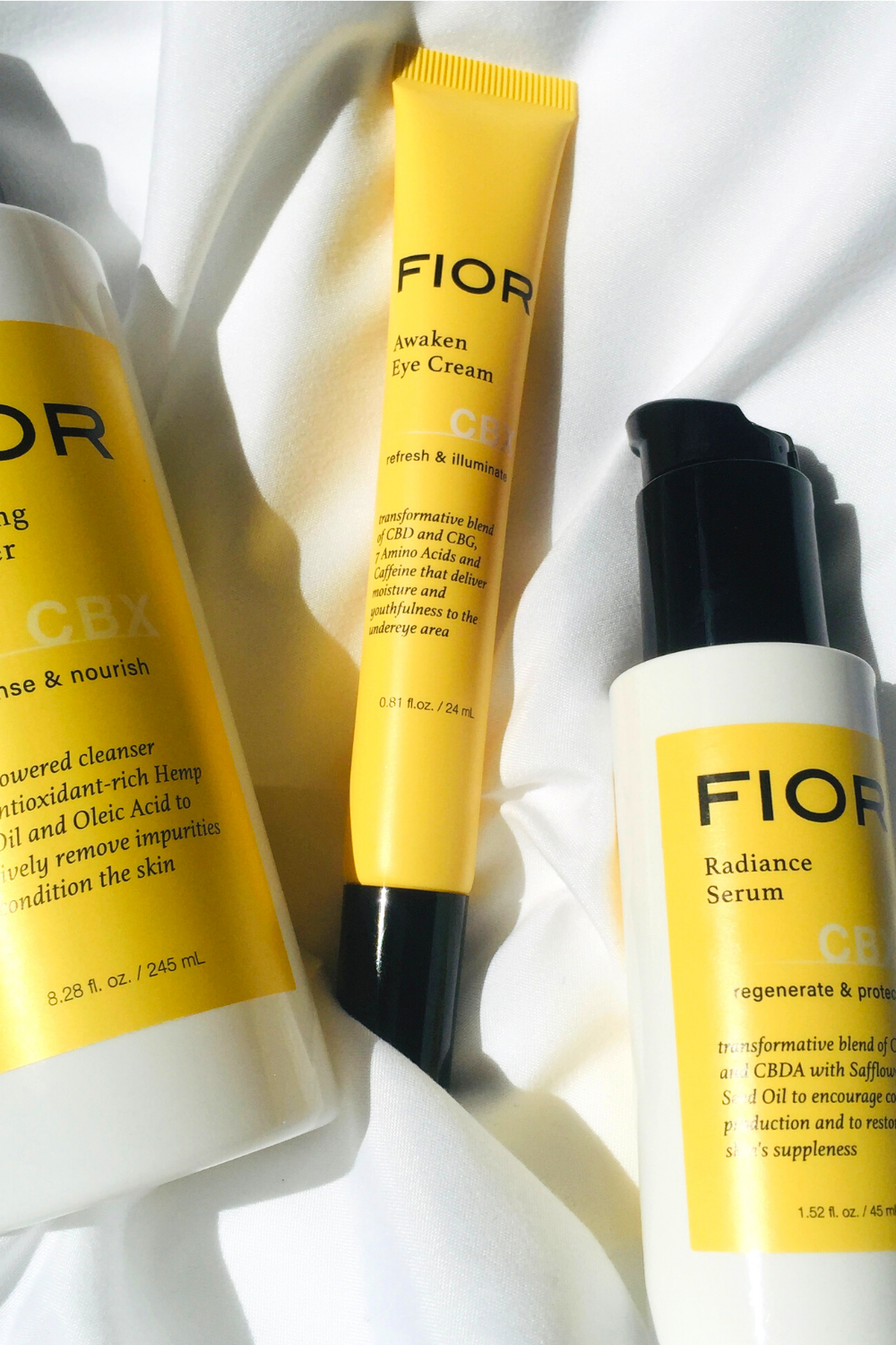 Curious About CBD Oil? What is it? And why is it in your skincare? We're breaking down the benefits and facts that CBD oil has for skin. Is it just a fad? Or does it really have big beauty benefits? Click here for all the CBD details and Fior Awaken Eye Cream Review!  #CBDOil #CBDOilBenefits
