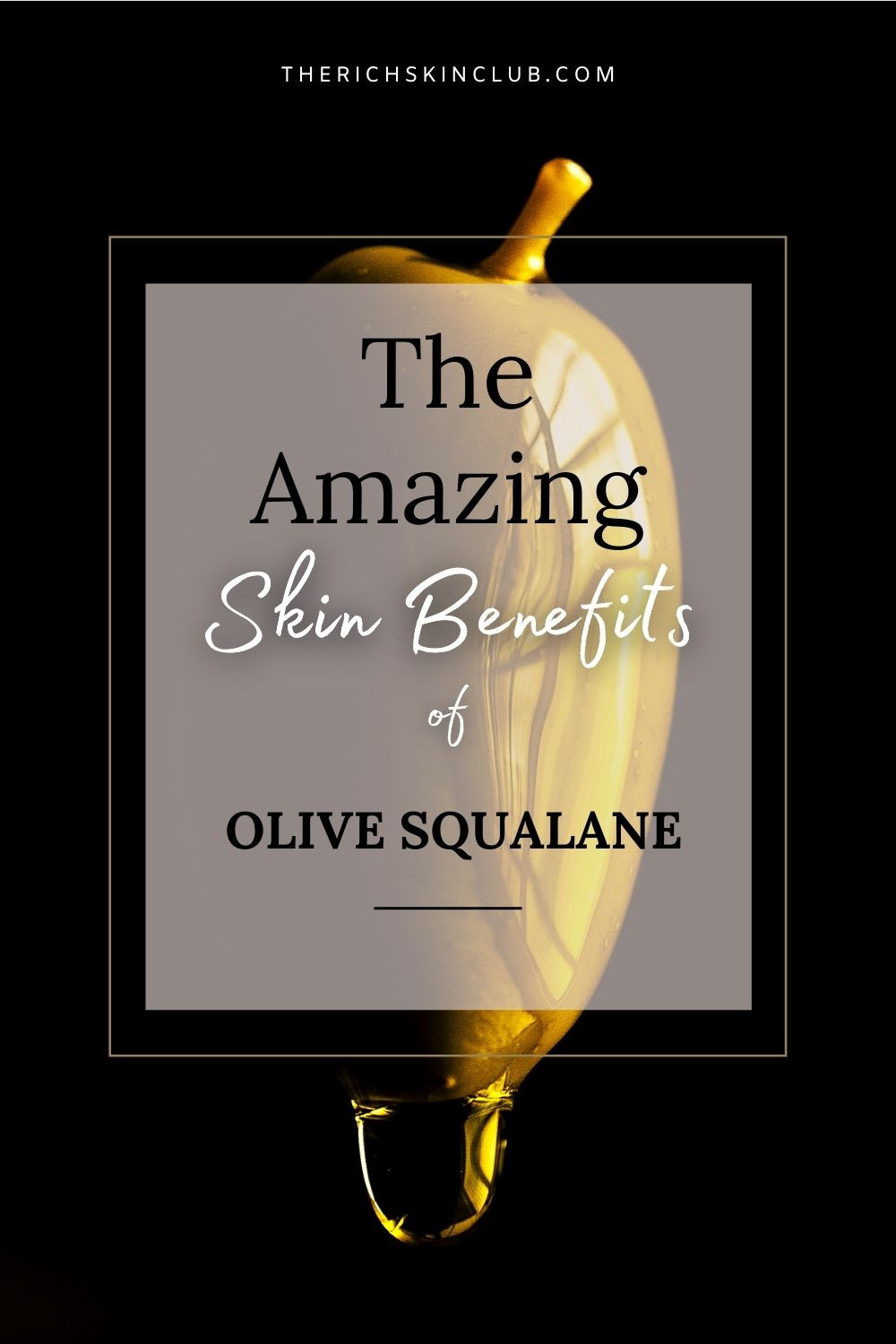Nicknamed 'Natures Facelift' Olive Squalane is a botanical lipid that mirrors human lipids in molecular structure and weight. This makes it a GREAT anti-aging skin care ingredient! By replenishing the skin with lipids, squalane restores & repairs the skin barrier. Unlike any other oil, it feels more like serum with its clear, lightweight consistency. Click the pin to learn more and get my top clean beauty picks! #squalaneoilbenefits #thebenefitsofsqualane #squalanebenefitsforskin