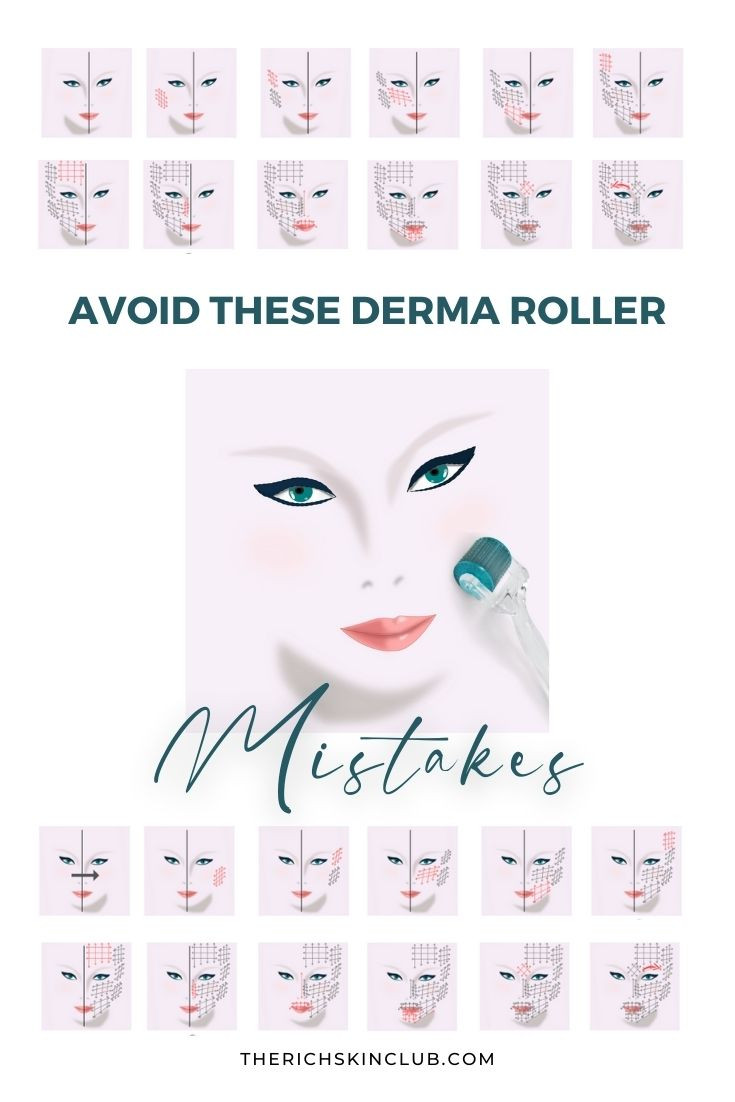 Avoid These 5 Microneedling Mistakes To Get The Best Results. Important things to know BEFORE you start derma rolling! Click the pin to learn exactly how to take care of your skin post microneedling, what to use and what NOT to use, how often to derma roll and how to clean your microroller to avoid skin damage and speed up your results. #dermarollerresults #howtouseadermaroller