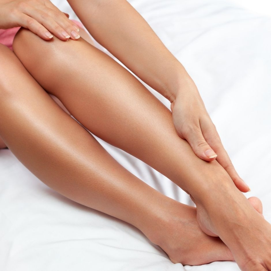 How to heal dry, cracked legs from shaving