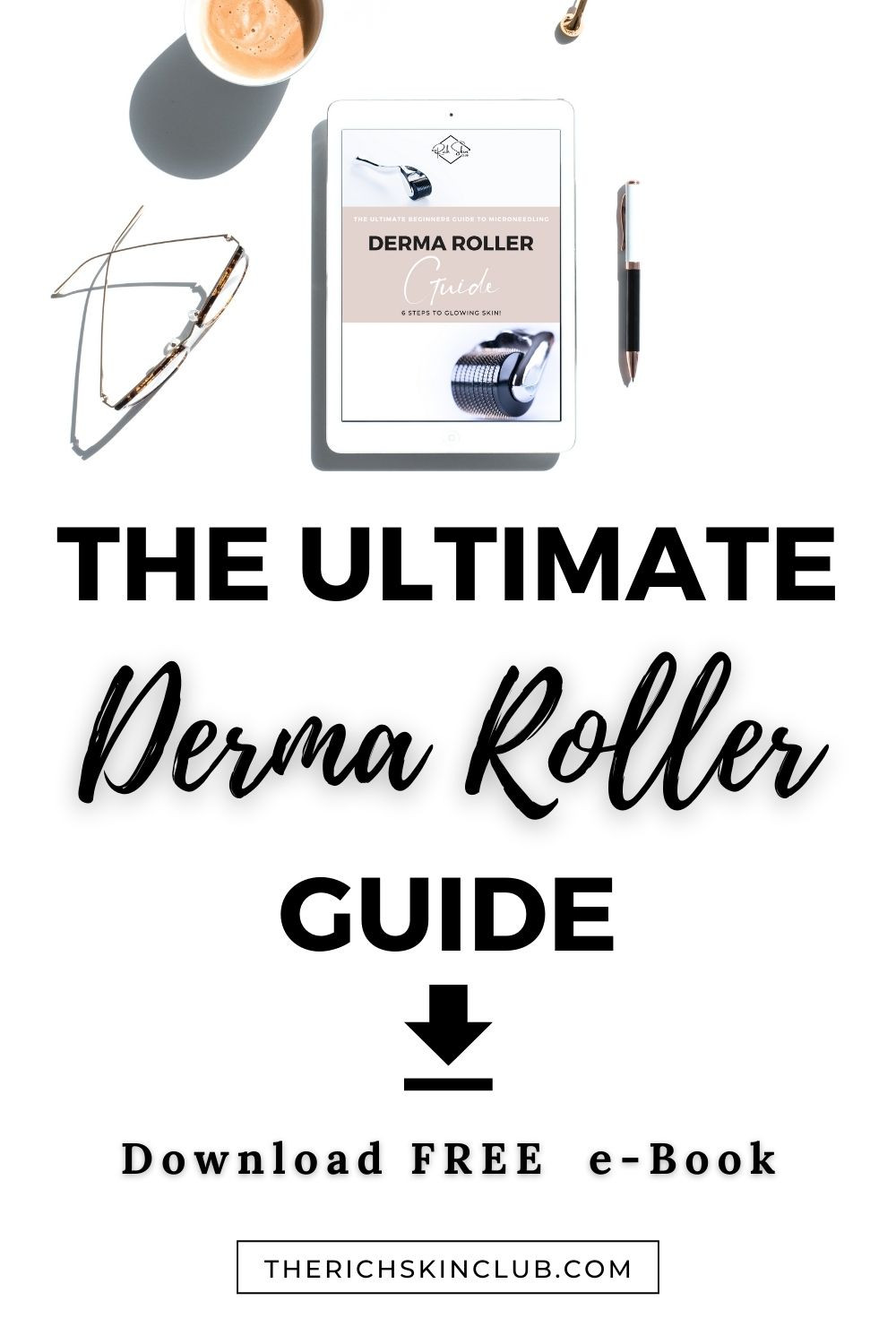 Microneedling Tips: Step by step guide to using a derma roller at-home. Microneedling helps to reduce acne scars/ post-inflammatory pigmentation, wrinkles and dry, damaged skin. Click the pin to learn how to get gorgeous, glowing skin with a derma roller. #microneedling #howtouseadermaroller #bestdermaroller