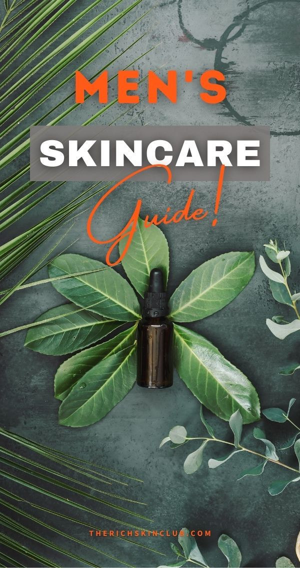 Why Men Need To Take Of Their Skin Too! Men's skin care is just as important as women's. Although men's skin is slightly different than women's and actually ages slower, you still need to look after it! Click the pin to get some simple tips and expert advice for building a suitable, anti-aging skin care routine. #skincaretips #mensskincare #skincareforguys #mensbeautytips